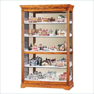 Howard Miller Parkview Village Display Curio Cabinet