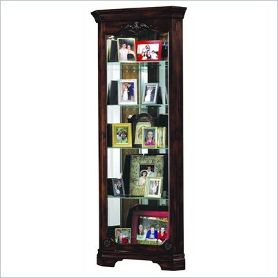 Howard Miller Constance Corner Display Curio Cabinet