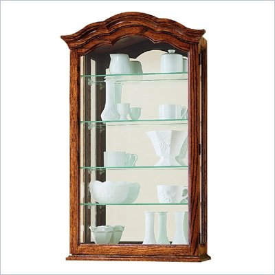 Howard Miller Vancouver II Wall Display Curio Cabinet