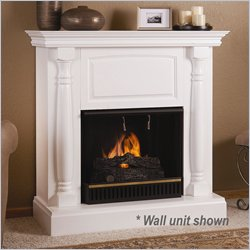White Gel Fuel Fireplace