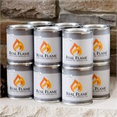Real Flame 13 oz Gel Fuel 12 Pack for Fireplace