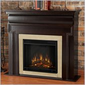 Real Flame Mt. Vernon Electric Fireplace in Dark Walnut
