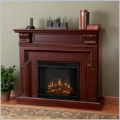 Real Flame Kristine Electric Fireplace in Dark Mahogany