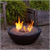 Real Flame Hampton Fire Bowl in Black