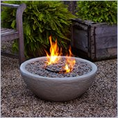 Real Flame Hampton Fire Bowl in Gray Finish