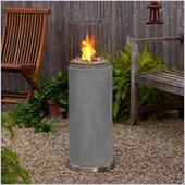 Real Flame Modesto Fire Accent in Gray