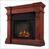 Real Flame Gabrielle Indoor Electric Fireplace in Dark Mahogany