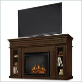 Real Flame Lannon Freestanding Electric Fireplace in Espresso Finish