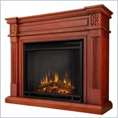 Real Flame The Elise Electric Fireplace in Dark Mahogany