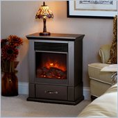 Real Flame Barrington Electric Fireplace in Dark Walnut