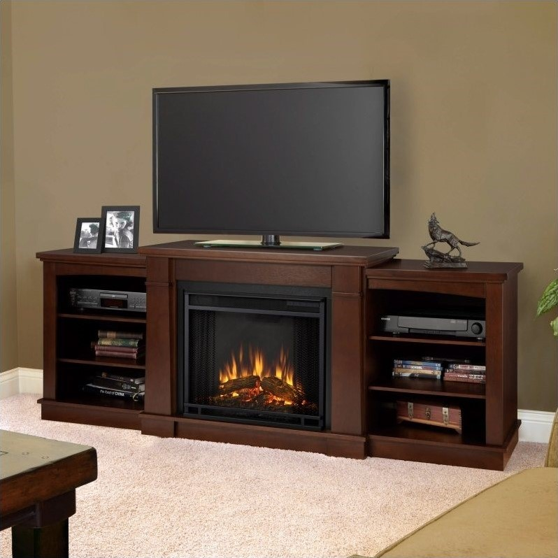 Hawthorne Electric Fireplace Tv Stand In Dark Espresso