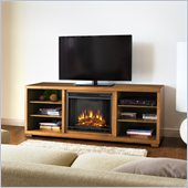 Real Flame Marco Electric TV Stand Fireplace in Walnut