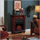 Classic Flame Regency Antique Free Standing Mahogany Electric Fireplace