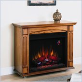 Classic Flame Lancaster Electric Fireplace in Antique Oak