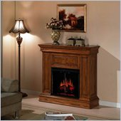 Classic Flame Phoenix Wall and Corner Electric Fireplace in Premium Oak