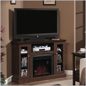 Classic Flame Bancroft Fireplace in Antique Cherry