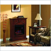 Classic Flame Arcadia Fireplace in Vintage Cherry