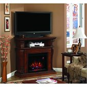 Classic Flame Corinth Fireplace in Vintage Cherry