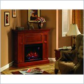 Classic Flame Metropolis Fireplace in Cherry