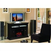 Classic Flame Cannes Fireplace in Espresso