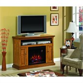 Classic Flame Cannes Fireplace in Antique Oak