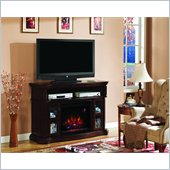 Classic Flame Aberdeen Fireplace in Cocoa Cherry