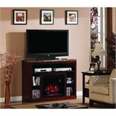 Classic Flame Adams Fireplace in Empire Cherry