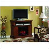 Classic Flame Mapleton Fireplace in Provincial Pecan