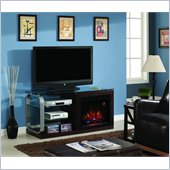 Classic Flame Belleville Fireplace in Midnight Cherry