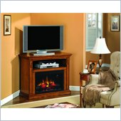 Classic Flame Fairmont Fireplace in Antique Oak