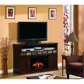 Classic Flame Margate Fireplace in Caramel Oak