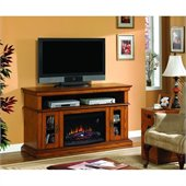 Classic Flame Brookfield Fireplace in Premium Oak