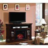 Classic Flame Belmont Fireplace Combinations in Caramel Oak