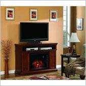 Classic Flame Carmel Fireplace Combinations in Premium Pecan Cherry