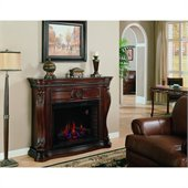 Classic Flame Lexington Fireplace in Empire Cherry