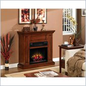 Classic Flame Oxford Infrared Fireplace in Premium Pecan Cherry