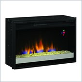 Classic Flame 26 Contemporary Electric Fireplace Insert in Black