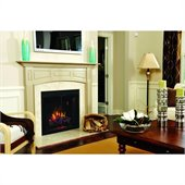 Classic Flame Builders Box 39 LED with Swinging Doors in Black