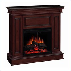 Mahogany Electric Fireplace
