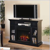 Classic Flame Beverly Electric Fireplace and TV Stand in Espresso