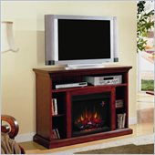 Classic Flame Beverly Electric Fireplace and TV Stand in Premium Cherry