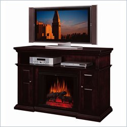 Classic Flame Pasadena Espresso Electric Fireplace and TV Stand
