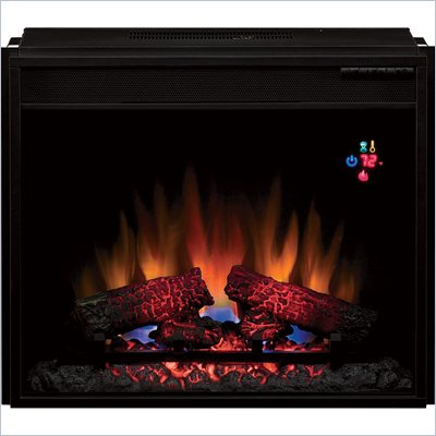 "Classic Flame 23"" Insert Electric Fireplace in Black"