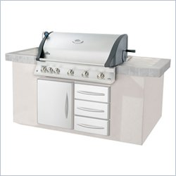 Napoleon Grills Mirage 730 Series Built In 43 Inch Infrared Grill in Stainless Steel