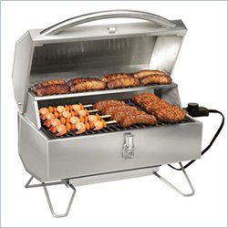 Napoleon Freestyle Electric City Grill in Stainless Steel
