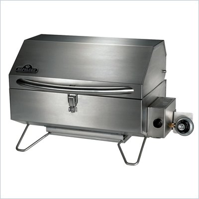 Napoleon Grills Prestige II Freestyle Portable Series Infrared Grill in Stainless Steel