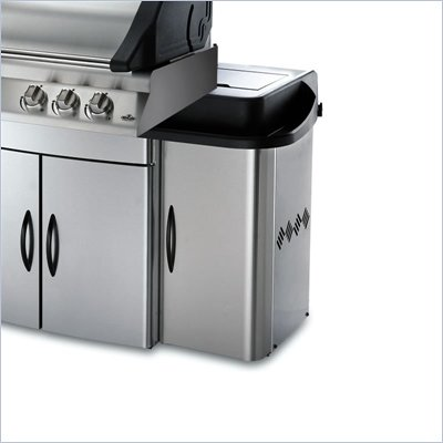 Napoleon Grills Mirage Side Enclosure for 485, 605, 730 Series Grills (Set of 2)