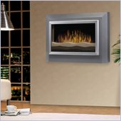 Dimplex Sahara Wall Mounted Electric Fireplace in Gunmetal