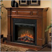 Dimplex Electraflame Newport Free Standing Electric Fireplace in Walnut