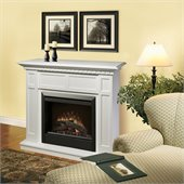 Dimplex Caprice Free Standing Electric Fireplace in White